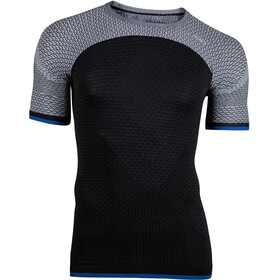 UYN Running Alpha OW SS Shirt Men Charcoal/Off White